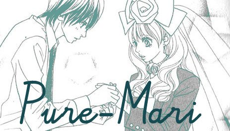 screenshot from shoujo manga pure mari