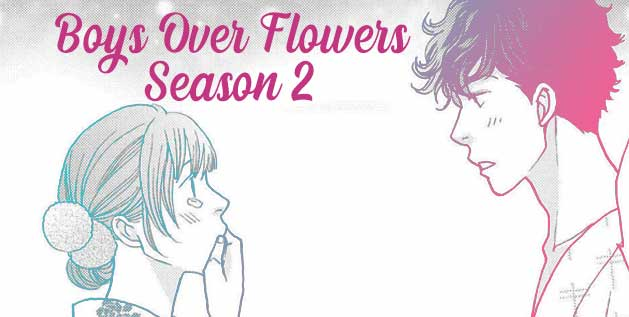 Boys Over Flowers S2 Manga by Yoko Kamio