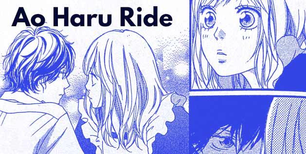 Ao Haru Ride Manga by Io Sakisaka